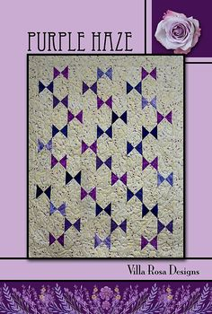 PURPLE HAZE Quilt Pattern  Villa Rosa Designs  Charm by Jambearies