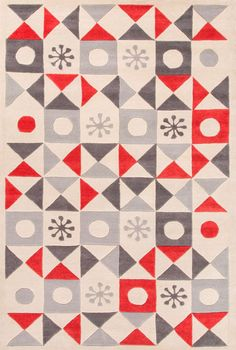 Playful By Petit Collage starburst rug (whitecap grey) | RugsUSA.com | $91-$1012