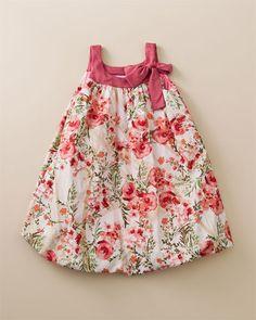 Freckles & Kitty Mauve Bubble Dress (4-6X)