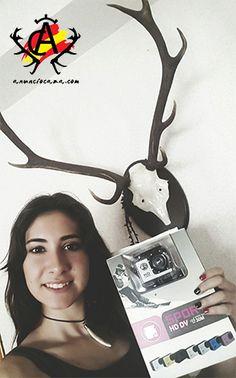 Kassandra Fajardo, ya tiene su Cámara SPORTS        Kassandra Fajardo, ya tiene su Cámara SPORTS del Sorteo de anunciocaza.com. Enhorabuena y a disfrutarla, esperamos grabes mil lances !!!.        http://www.anunciocaza.com/kassandra-fajardo-ya-tiene-su-camara-sports/