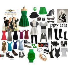 http://www.polyvore.com/my_friends_me/collection?id=491975  Since I want to become a fashion stlyist, I made a special polyvore collection based off of 3 of my friends. I collect clothes and shoes that would flatter their figures, personalized it with their favorite colors and interests.