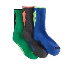 J.Crew - Boys' lightning socks