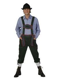 Met deze Tiroler outfit voor heren bent u klaar voor het Oktoberfest. Wij hebben een groot assortiment Tiroler kleding te huur, kijk dus snel op Zoef.com!