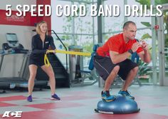 A speed cord is a versatile tool for applying resistance to traditional strength and plyometric exercises. These bands increase intensity and improve core engagement during movement. Use these five speed cord drills as a means to intensify a workout and progress your clients to the next level of challenge.