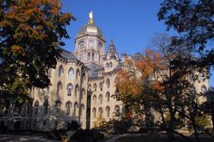 Notre Dame University may be one of the most haunted campuses in the US