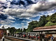 Bewdley with an amazing sky.