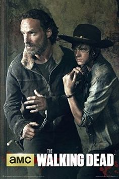 The Walking Dead Season 5 Rick  Carl Poster Print 24 X 36 *** Check this awesome product by going to the link at the image.Note:It is affiliate link to Amazon.