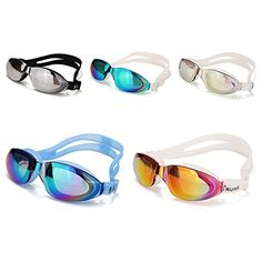 Electroplating Swimming Goggles Waterproof HD Swimming Glasses Eyewear By LookTarn -- You can get additional details at the image link.Note:It is affiliate link to Amazon. #f4f