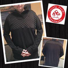 Selten aber hin und wieder kommt es doch vor, das mein Mann auch von mir benäht wird. Diesmal war es ein Pullover genauer der Mr. Klassik von Selbermacher-123.