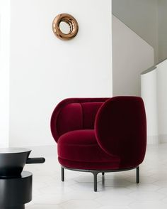 #red #chair | Scorpio sign home deco – The dreamy essentials #luxuryinteriordesign