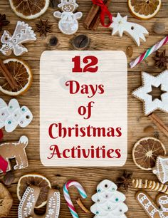 12 days of christmas activities with printables - The 12 Days After Christmas