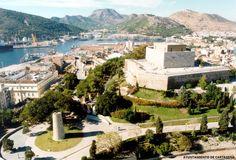 Cartagena contó con un castillo desde época muy antigua, como recogen las fuentes romanas, no puede decirse que fuera éste, situado en el cerro de la Concepción. #Historia #turismo http://www.rutasconhistoria.es/loc/castillo-de-la-concepcion-o-de-asdrubal