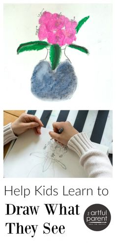 Tips to help children learn to draw what they see. Observational drawing for kids is an excellent way for them to develop visual acuity and drawing skills.