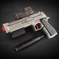 2015 new 2in1 desert eagle gun Nerf Air Soft Paintball Gun Pistol & Soft  Bullet CS Gun Plastic Toys Shooting Water Crystal Gun-in Toy Guns from Toys  ...