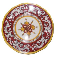 #107MAR dinner plate