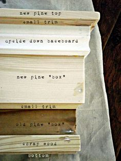 How to build a knock-off PB decorative ledge....with scraps! SO doing this.