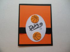 Children's Birthday Card with Basketballs, Sports Lover Card, Blank Birthday Card, Basketball Fan Birthday Card on Etsy, $2.50