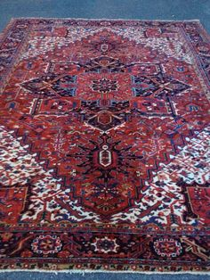 Handmade Persian Heriz In Maryland At Toossi Oriental Rug Www Rugs2c Com