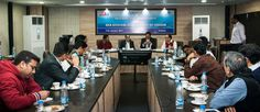 Members are interacting with Shri Vijay K Singh , Joint Director (Incharge), Export Inspection Agency (EIA), Govt. of India