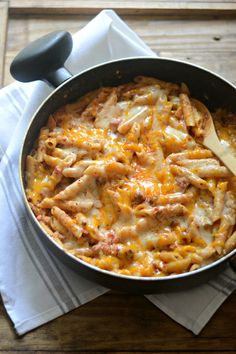 What's for dinner? Chili Cheese Dip One Pot Pasta