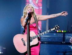 Miranda Lambert. Pink rocks.