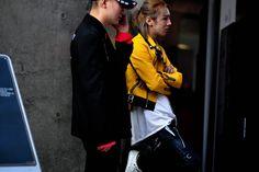Streetsnaps: Seoul Fashion Week Supreme Vetements Raf Simons