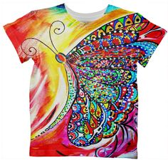 Kids T-Shirt. Artist Kimberly Sumerel. Available for purchase. PAOM Design.