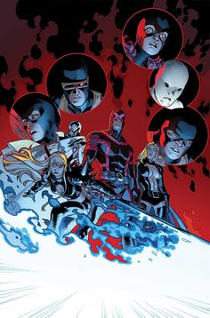 X-Men by Stuart Immonen