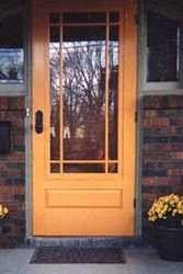 Louver Screen & Storm Door   Cape Cod Model   www.VintageDoors.com ...