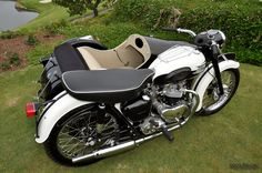 1958 Triumph T110 Tiger with sidecar outfit - Dana Point, CA, United States, MotoZania Photo - Motorcycle Pictures & Videos and Social Network