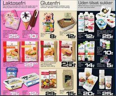 ALLERGIVENLIGE PRODUKTER SÆLGES I FLERE SUPERMARKEDER.Laktose-, gluten- og sukkerfrie dagligvarer er nu tilgængelige i butikkerne.