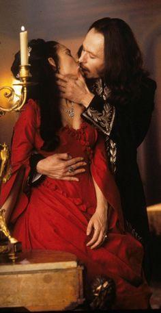 Gary Oldman & Winona Ryder - 'Dracula' , 1992.