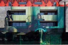 "Samantha Everton ""2 Girls"" Building Art in Melbourne"