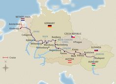 Grand European Tour - 2015 Amsterdam to Budapest - Cruise Overview