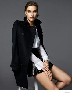 Irina Shayk Models Fall/Winter Style for Scoop NYC Lookbook