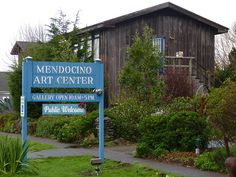 Mendocino CA Art Center. Took a digital camera class here with my friend Phyllis Sax.