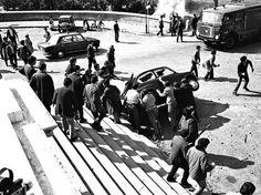 Roma - Maggio 1968 - La battaglia di Valle Giulia