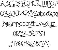 Image for ForgetMeNot font