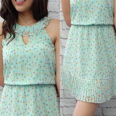 Os detalhes, realmente, fazem a diferença!! ❤#estampasexclusivas #modaatacado #verao2017 #detalhes #modaprameninas #modateen #vintageclothing #vintageprints #fashionteen #dresses