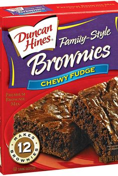 Duncan Hines Brownie Mix | 18 Treats You Might Not Know Are Dairy-Free