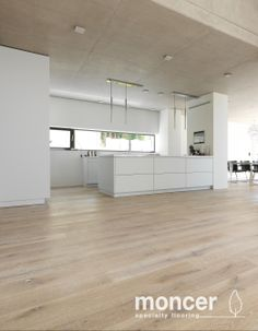 Classic European White Oak Alpino | Natural Oil Kitchen Cabinets Materials, Small Kitchen Cabinets, Oak Cabinets, Small Kitchens, Small Apartment Plans, Small Apartments, Küchen Design, House Design, Interior Design