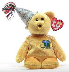 November (birthday) - 2nd series - Ty Beanie Babies 043ffd1e1e9