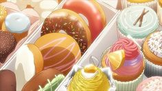 Deliciosos dulces golosos