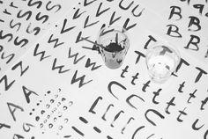 Sammelsurium – Typeface by Mattias Sahlén, via Behance