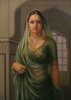 Rare Thoughts Art Gallery An Indian Princess #Royal