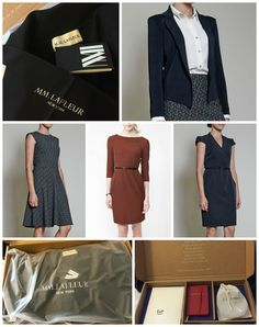 My review of MM.LaFleur workwear and their new Bento Box service, where a stylist picks out work outfits for you and sends them to you at home to try on -- for free. #spon