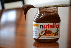 Nutella, the famed Italian chocolate hazelnut spread, is getting its very own cookbook. Nutella: The 30 Best Recipes describes various irresistible way to enjoy this spread whether its swirled in a cheesecake, sandwiched between two macaroons, or hi Biscuit Nutella, Nutella Cookies, French Supermarkets, Sugar Free Nutella, Nutella Fudge, Nutella Chocolate, Nutella Spread, Chocolate Icing, Nutella Recipes