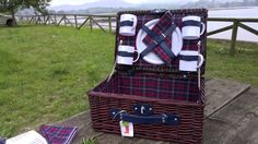 Cesta de picnic de cuatro servicios The Welly home