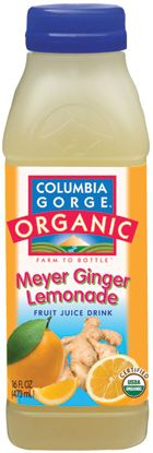 Meyer Ginger Lemonade (with a hint of cayenne pepper) I think I'm going to try this as a chicken marinade this summer.