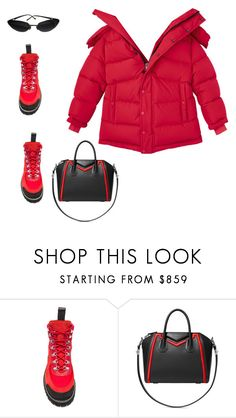 """Untitled #2217"" by mollface ❤ liked on Polyvore featuring Off-White, Givenchy and Chanel"